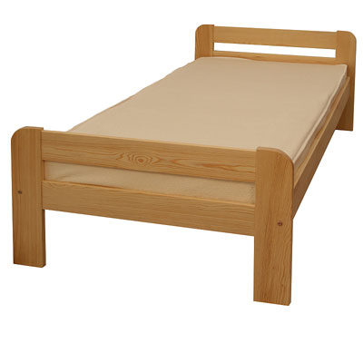 drewniane łóżko Rafał